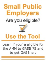 Small public employers, are you eligible? Use the tool.